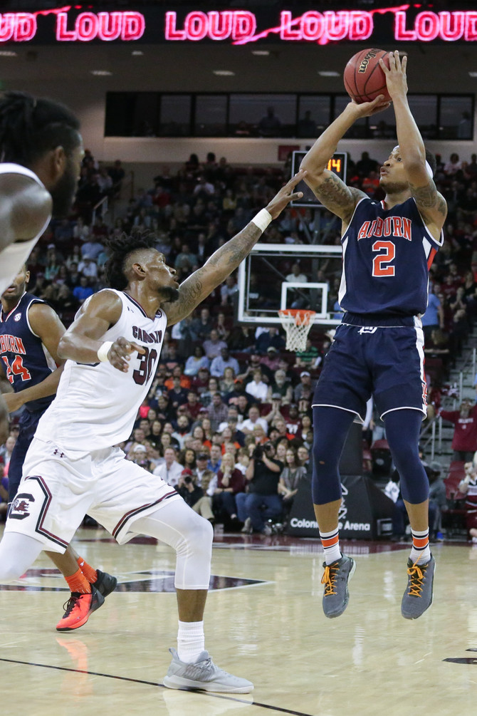 Auburn comes up short in Columbia