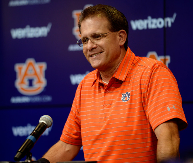 Gus Malzahn Press Conference Review: The Georgia Southern Game