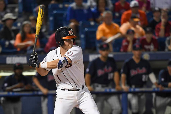 Auburn Advances to Double-Elimination Bracket with win over Ole Miss