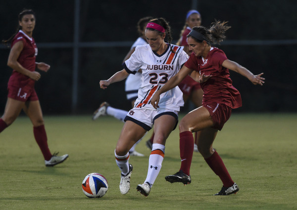 Auburn Soccer Rides Momentum into Match with Missouri