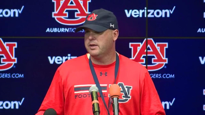 Lindsey Excited For First Game as Auburn Offensive Coordinator