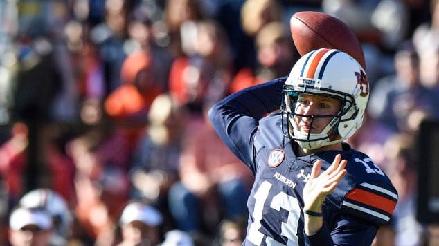Auburn Football Releases Depth Chart for Clemson Game