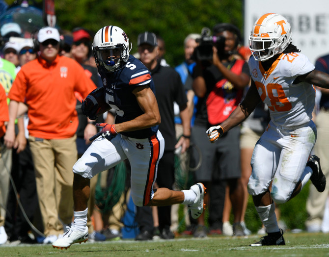 SportsCall Recap: Auburn loses at home to Tennessee 30-24