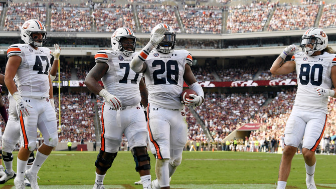 SportsCall Recap: Auburn wins 2019 SEC opener, 28-20 at No. 17 Texas A&M