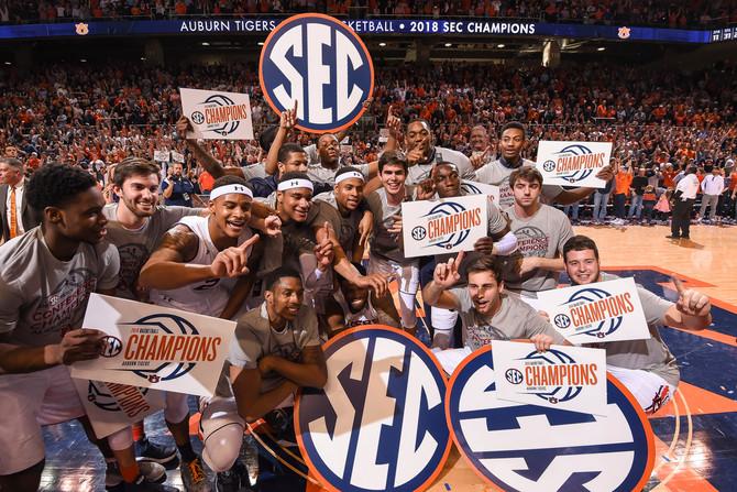 Auburn wins third SEC title