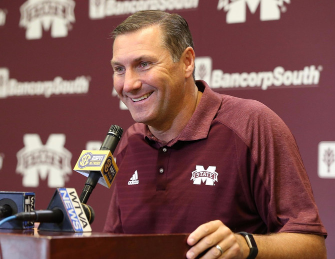 What is Mississippi State Head Coach Dan Mullen saying about Auburn?