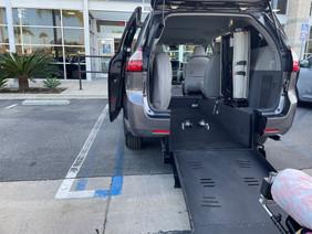 New Converted Van with Ramp