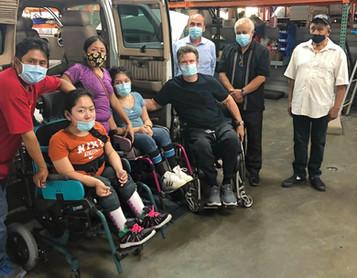 Santos Family with New Van
