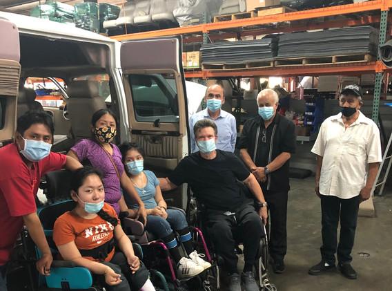 Santos Family & their New Van