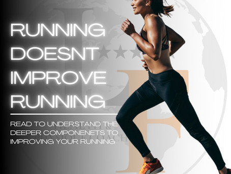 Running Doesn't Improve Running