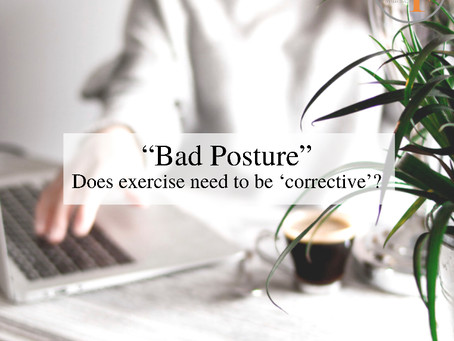 Does exercise need to be corrective?