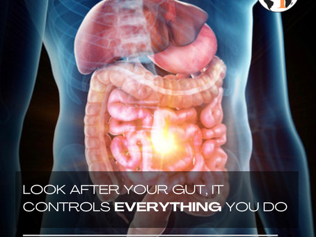 Look after your gut, it CONTROLS you