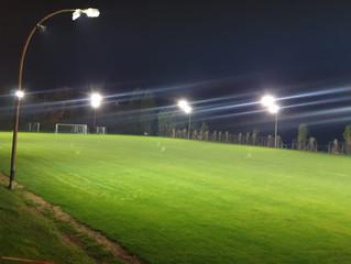 Neue Stadionbeleuchtung