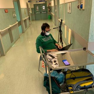 Sperimentazione Ospedale Covid pisa - 28 aprile 2020