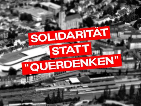 Solidarität statt Querdenken