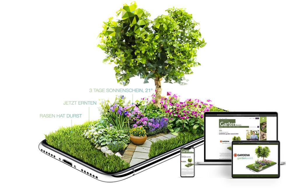 Image Digital Art GARDENA garden award 2020