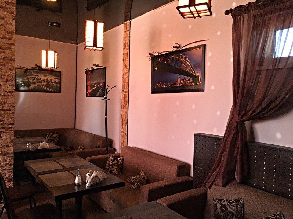 Зал кафе Sobranie