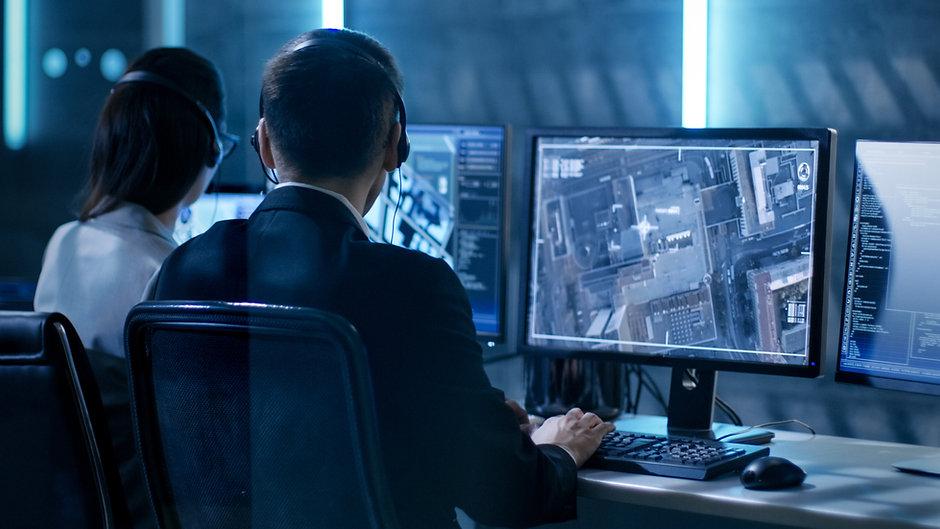 Überwachungsraum