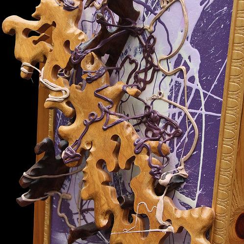 William Scheel - Acrylic Painter - Walking Stick