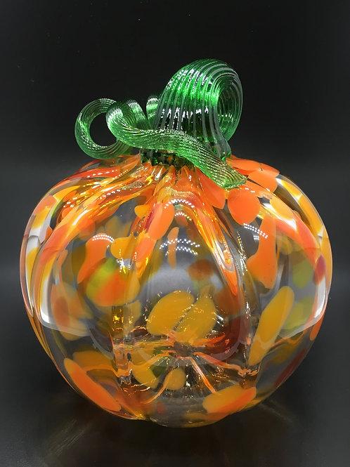 Mark Gottlieb - Glass Halloween Pumpkin Ornament