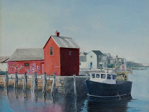 Robert Burns - Bradley Wharf