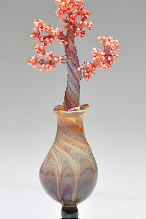 Annukka Ritalahti - Glass Vase and Flower