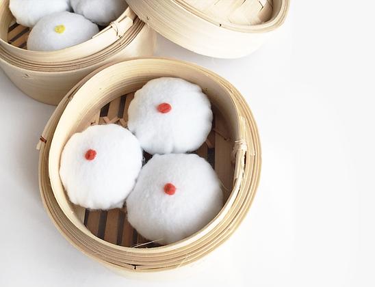 Steamed Bao (Char Siew)