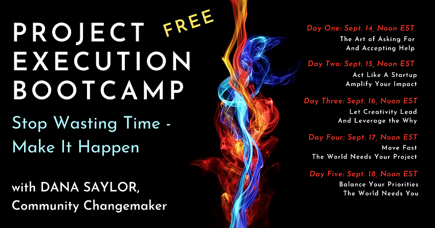 Project Execution Bootcamp Schedule FB C