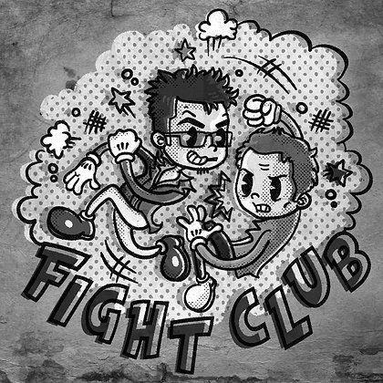 FIGHT CLUB (5.5x5.5)