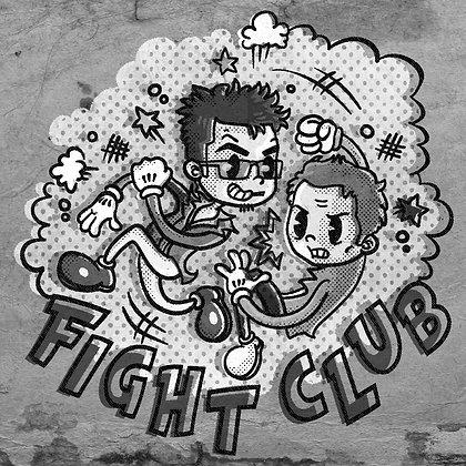 FIGHT CLUB (12x12)