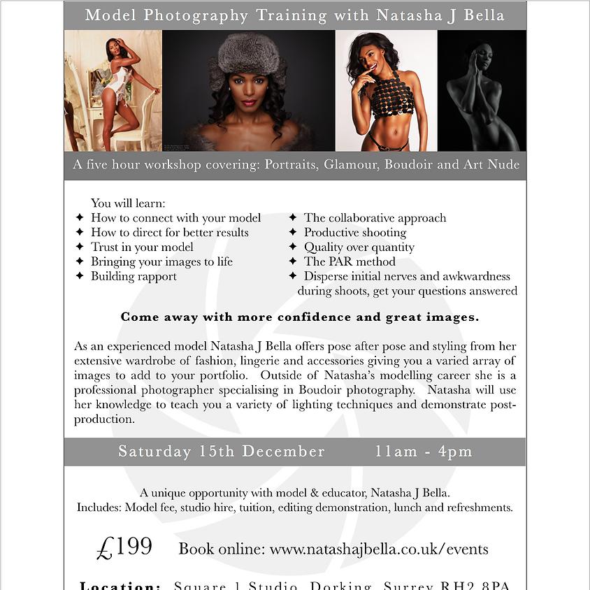 Surrey - Studio Lighting and Model Photography Training