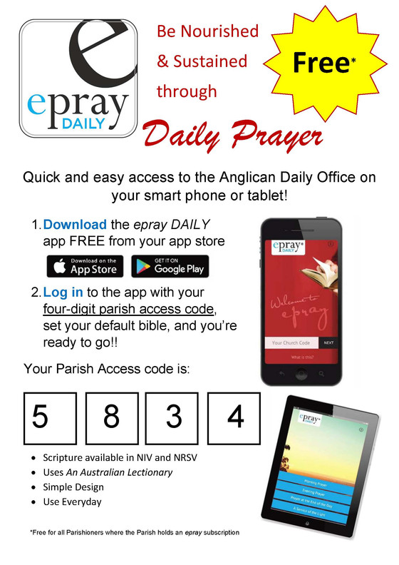 Evening Prayer and ePray
