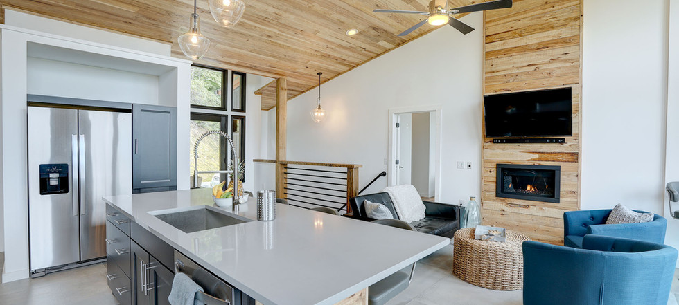 Sunset Falls - kitchen great room