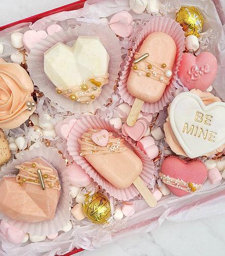 """Pretty in Pink"" Valentine's Day Box"