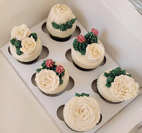 Succulent Cupcakes (Dozen)