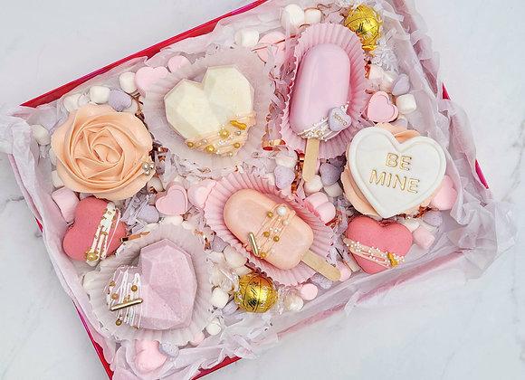 """Pastel Hearts"" Valentine's Day Box"