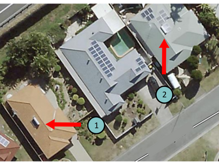 One Home Between Them, But Worlds Apart In Their Solar Hot Water Experience.
