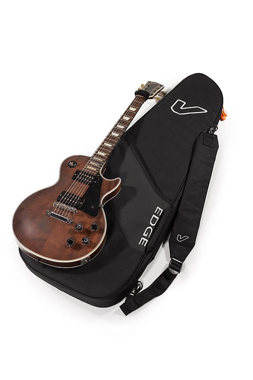 Gruv Gear GigBlade Gig Bag in Black for Electric Guitar Lying Down with Guitar