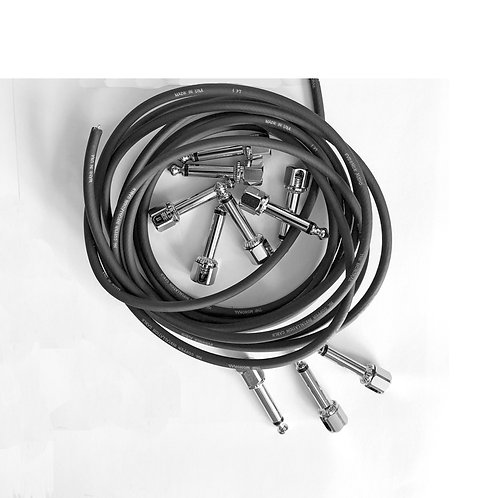 Evidence Audio Solderless Patch Cable Kit 2 - Graphite Black