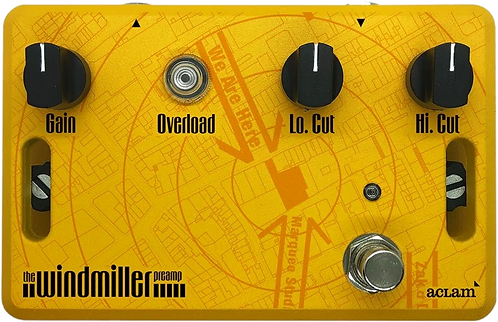 Aclam Windmiller Preamp Effect Pedal