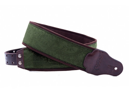 RightOn! Jazz Guitar and Bass Strap Cashmere Green