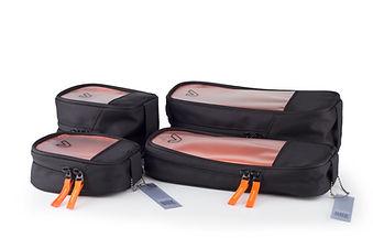 gruv gear set of 4 bento bags black