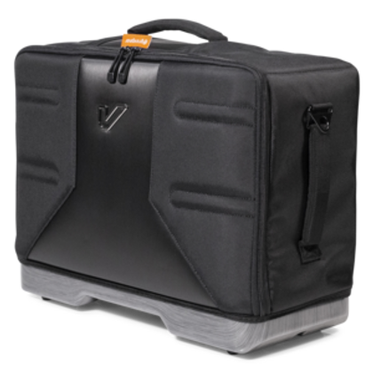Gruv Gear VELOC drum transportation system.  Gig bag for double bass pedal.