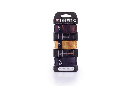 Gruv Gear FretWrap Electric Bass Guitar String Muter 3-Pack Wood