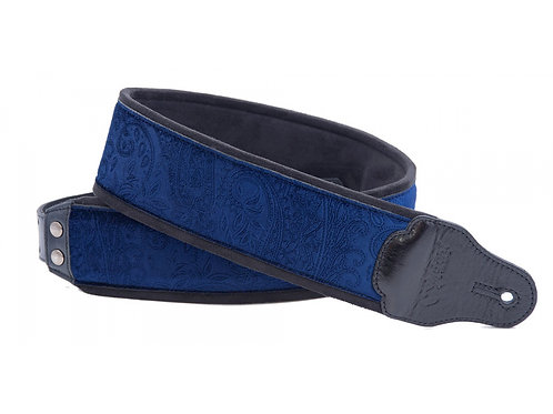 RightOn! Jazz Guitar and Bass Strap Cashmere Blue