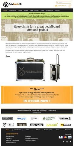 Website Design - E-Commerce
