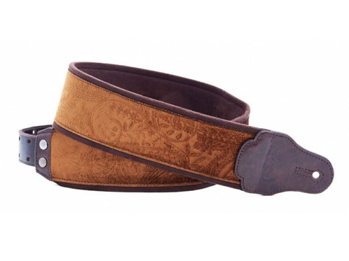 RightOn! Jazz Guitar and Bass Strap Cashmere Canyon