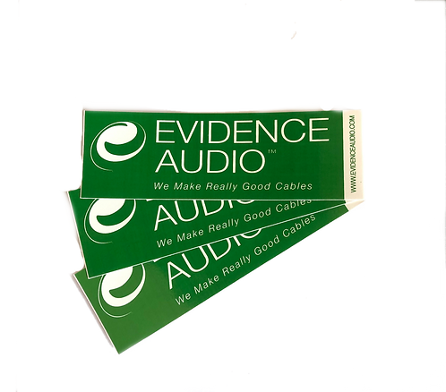 Evidence Audio Sticker 3-pack