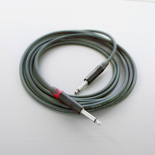 Evidence Audio Reveal high-end instrument cable for exceptional sound quality and feel.  Ideal for stage or studio use.