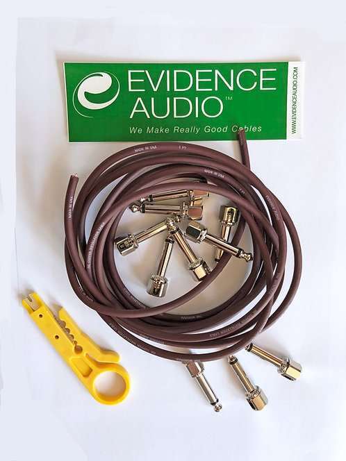 Evidence Audio brings the best solderless patch cables for your guitar or bass pedal board